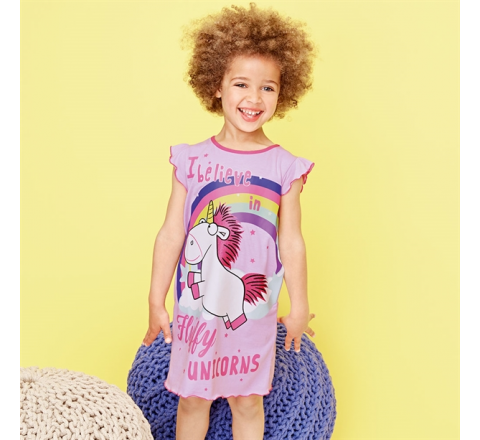 Despicable Me Fluffy Unicorn Nightdress
