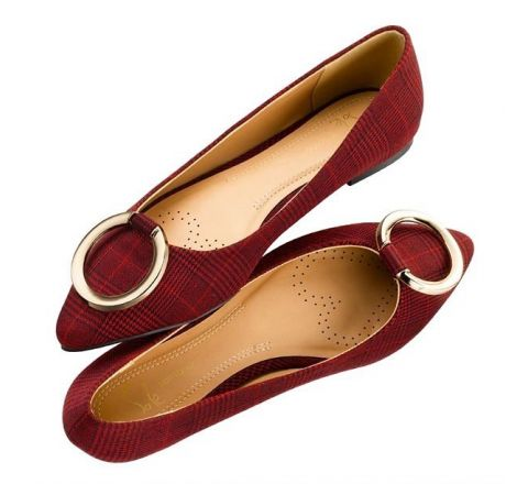 Avon Eboni Pointed Ballet Pump