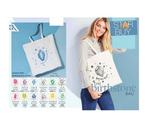 Birthstone Shopper Bag