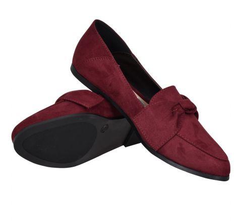Avon Izzie Tie Detail Ballet Loafer