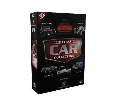 Classic Car Collection 3 DVD Box Set - History Channel