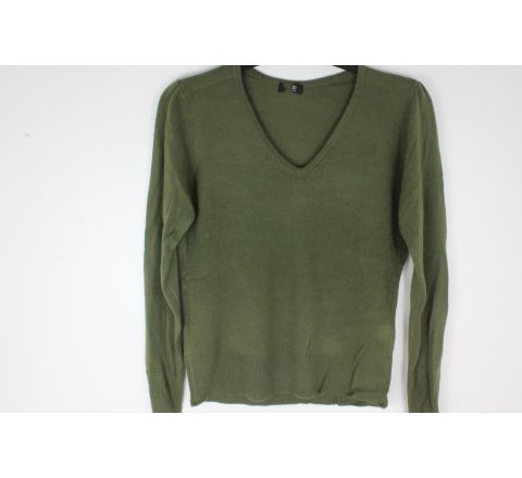 Sage v neck jumper