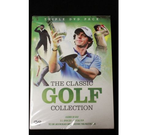The classic golf collection triple dvd
