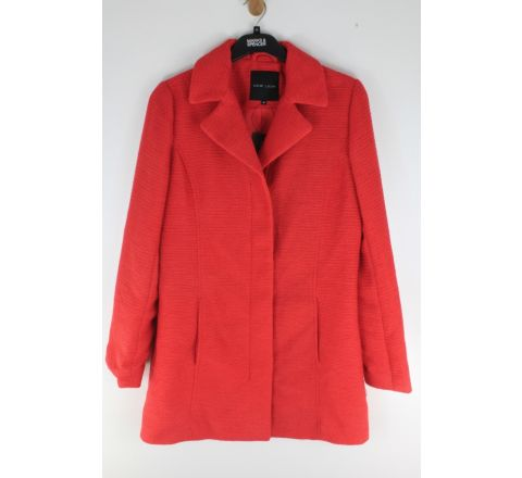 NL Red Zip Thru Coat